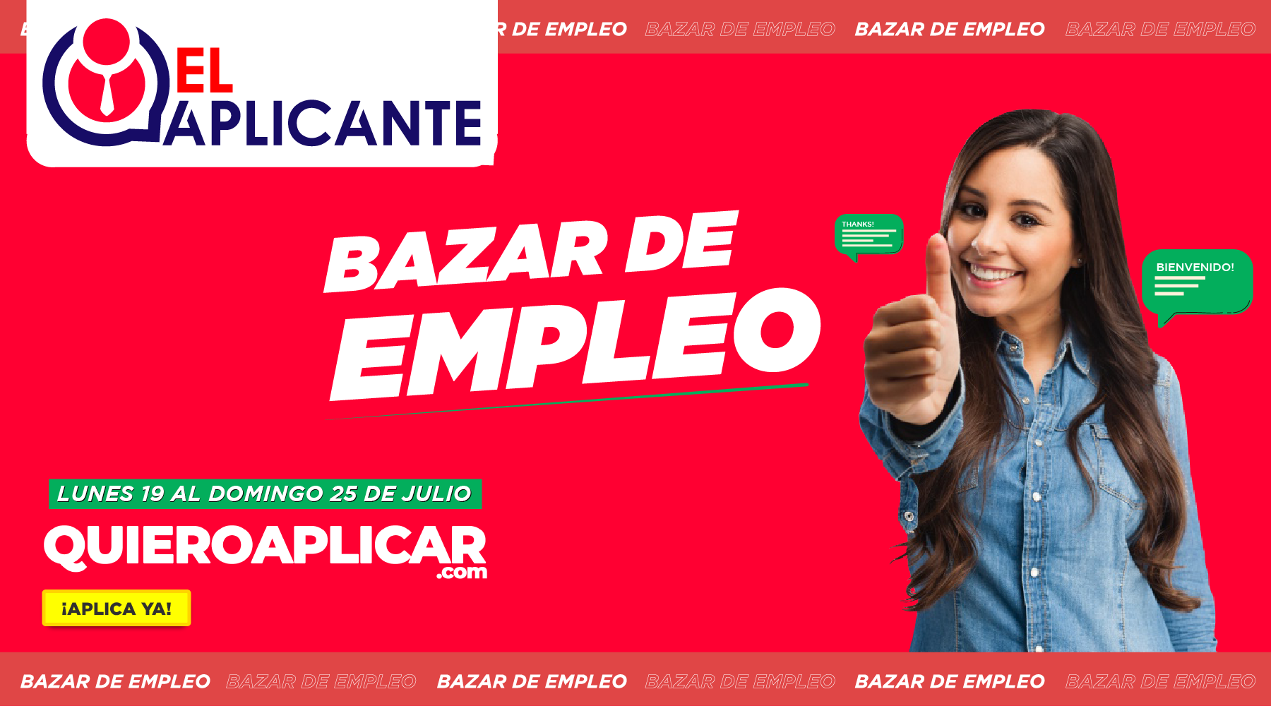Bazar de_empleo_Quieroaplicar.com _Elaplicante